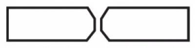 X-образный скос